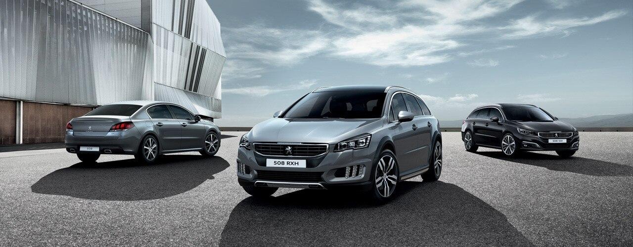 Peugeot modellen