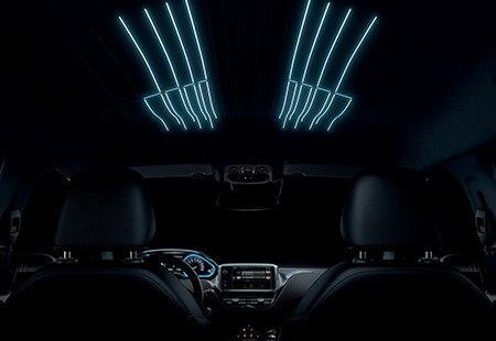 Peugeot 2008 SUV - sfeerverlichting