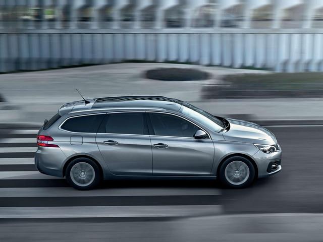 De nieuwe Peugeot 308 SW – Zijaanzicht – Ranke lijnen