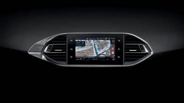 De nieuwe Peugeot 308 SW – Capacitief touchscreen – Connect 3D-navigatie