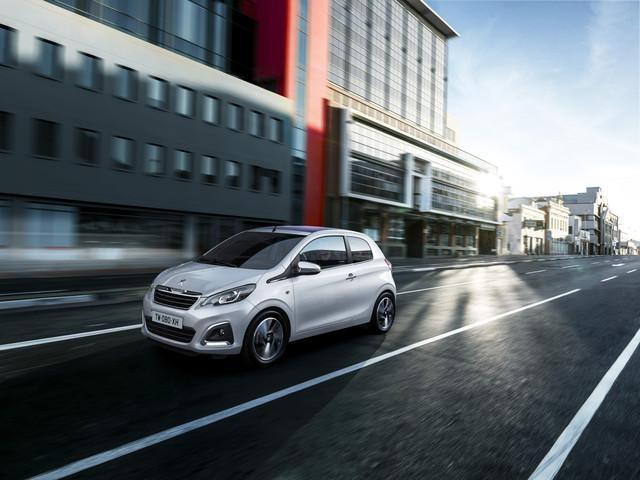Peugeot modellen stadsauto