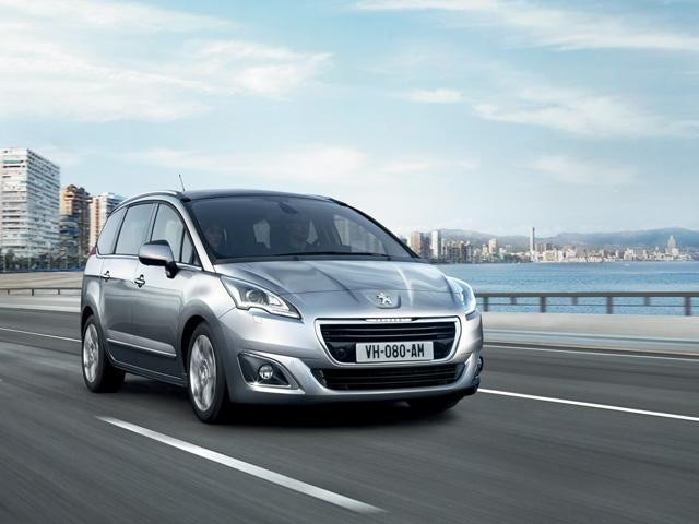 Peugeot modellen MPV
