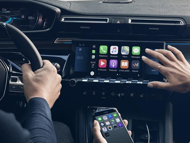 Peugeot Technologie - Connectiviteit