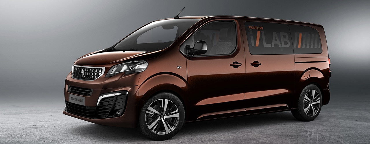 Peugeot Traveller i-Lab - design