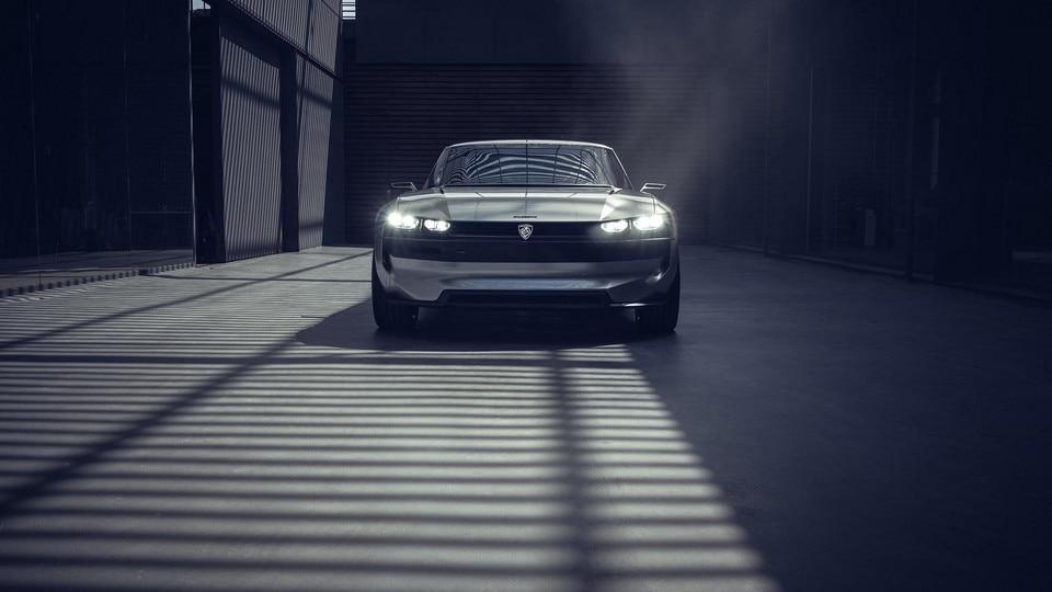 PEUGEOT e-LEGEND - Concept car
