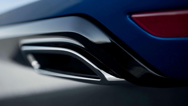 De nieuwe Peugeot 308 SW GT – Dubbel eindstuk van de uitlaat