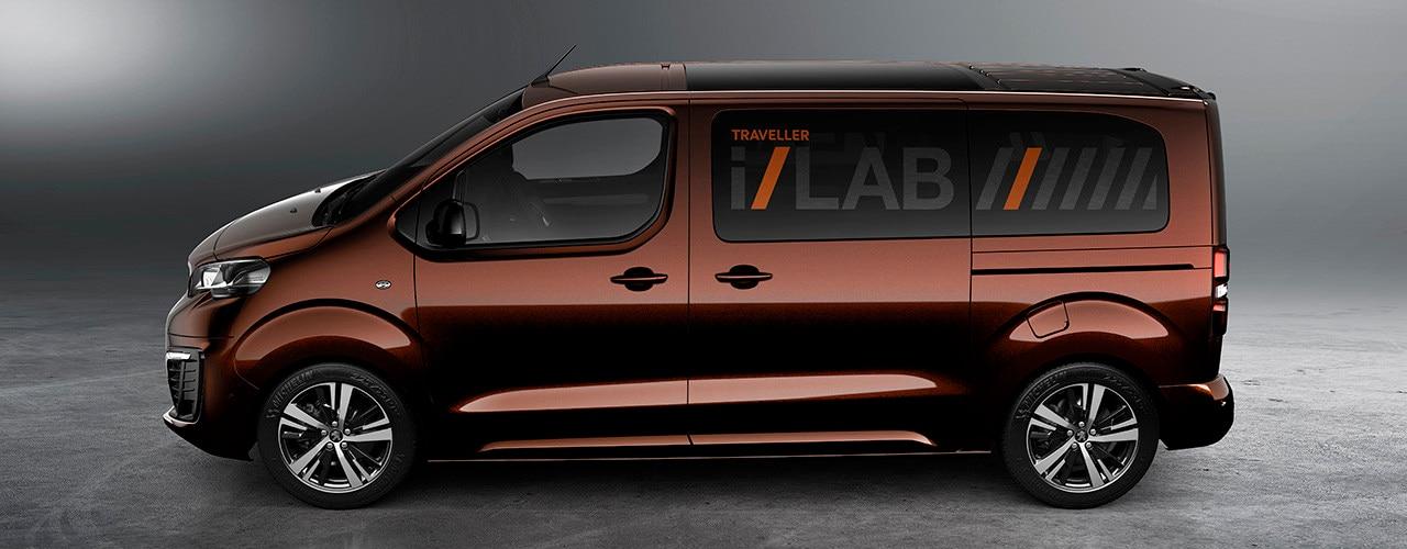 Peugeot Traveller i-Lab - design