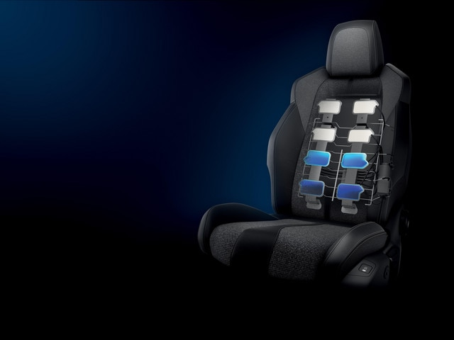 Stoelen met multipoint-massagefunctie - Nieuwe PEUGEOT 5008 SUV GT