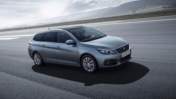 De nieuwe Peugeot 308 SW – Nieuwe voorzijde – Ranke lijnen