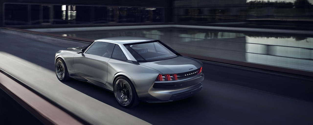 PEUGEOT e-LEGEND - Concept car