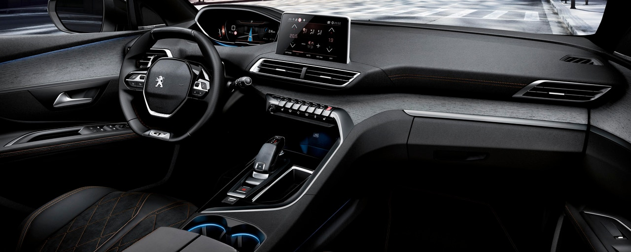 PEUGEOT i-COCKPIT - Nieuwe PEUGEOT 5008 SUV GT