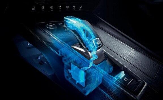 Nieuwe Peugeot 508 Berline, automatische transmissie EAT8 met elektronische Shift and Park by wire-bediening