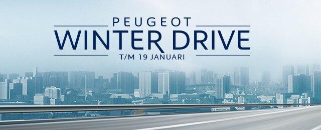 Peugeot Winter Drive - t/m 19 januari