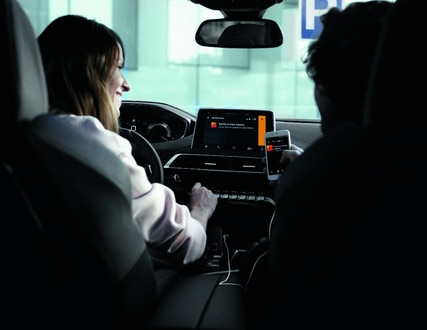Mirror Screen-functie - Nieuwe PEUGEOT 5008 SUV GT