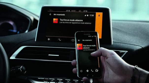 Intuïtieve connectiviteit - Nieuwe PEUGEOT 5008 SUV GT