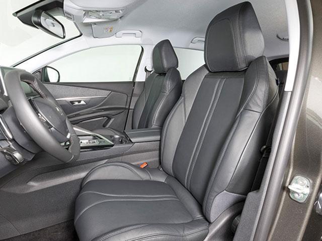 Peugeot 3008 SUV Blue Lease Leder actie