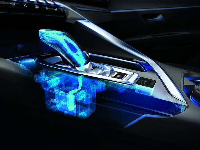 6-traps automatische transmissie EAT6 - Nieuwe PEUGEOT 5008 SUV GT