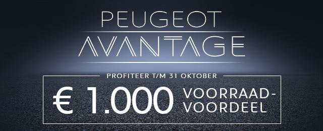 Peugeot Avantage - Voorraadvoordeel