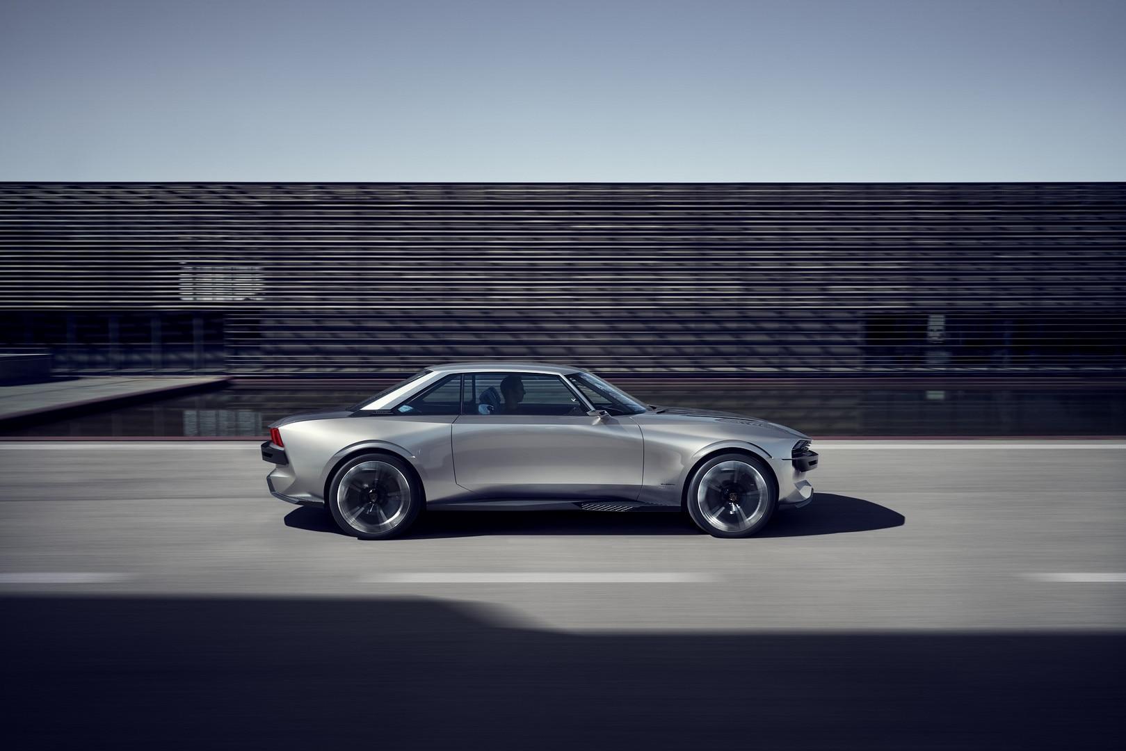 Peugeot E Legend Concept Foto S En Video S