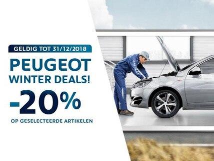 Peugeot Winter Deals