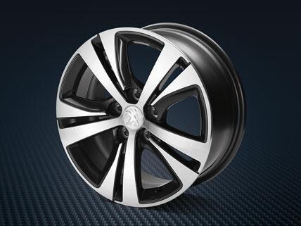 Peugeot 308 lichtmetalenvelgen grenat