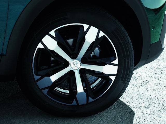 PEUGEOT 5008 SUV: Fraaie velgen