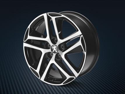 Peugeot 308 lichtmetalenvelgen saphir