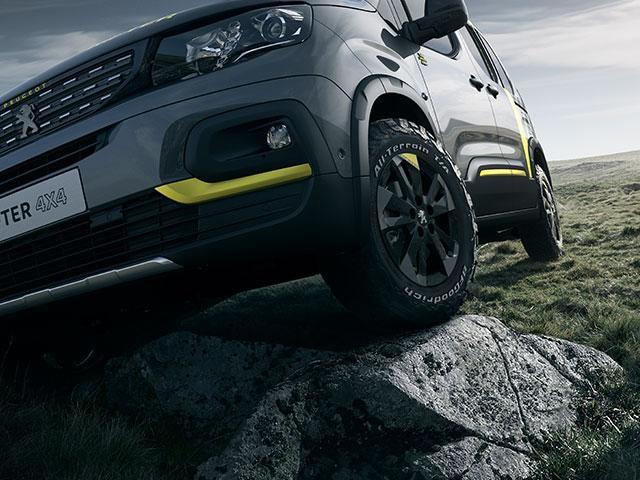 Concept Car - Peugeot Rifter 4x4 - exterieur