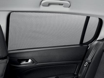 Peugeot 308 zongordijn