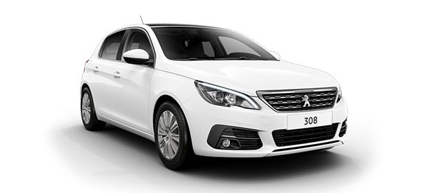 Peugeot 308 Blue Lease Upgrade Premium