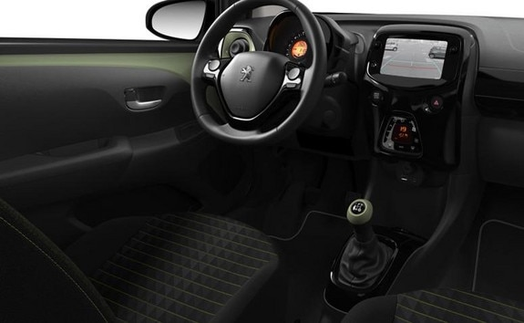 Peugeot 108 – Bekleding Pack Ambiance Smooth Green