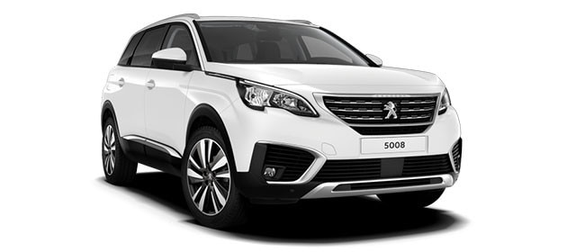 Peugeot 5008 SUV Blue Lease Upgrade Premium