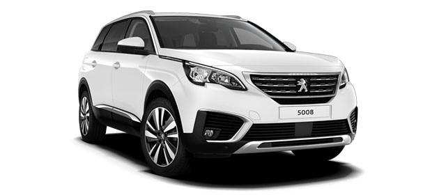 Peugeot 5008 SUV Blue Lease Upgrade Premium
