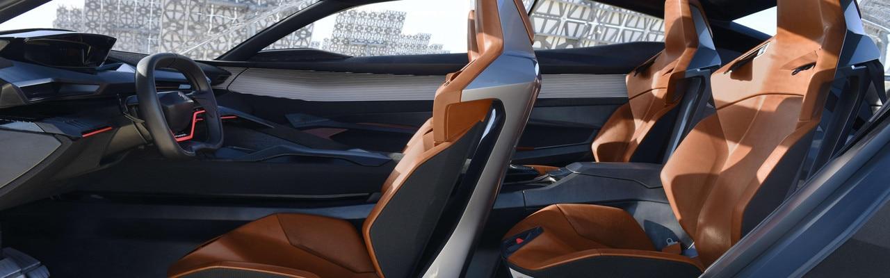 Peugeot Quartz - PEUGEOT i-Cockpit