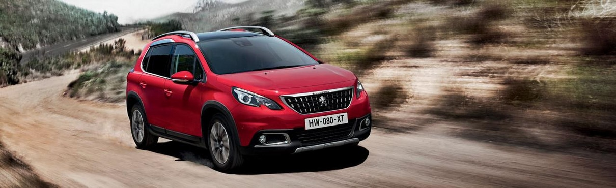 Peugeot 2008 SUV Blue Lion