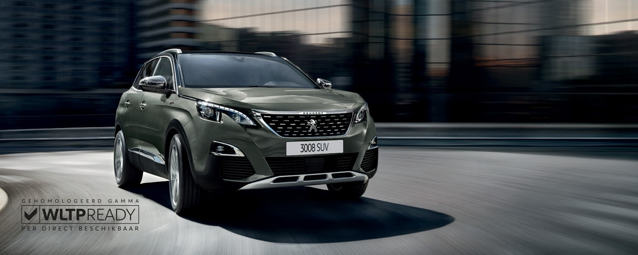 Peugeot 3008 SUV - Sports Utility Vehicle