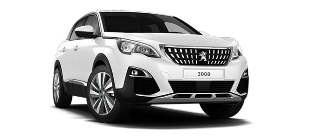Peugeot 3008 SUV Blue Lease Upgrade Premium