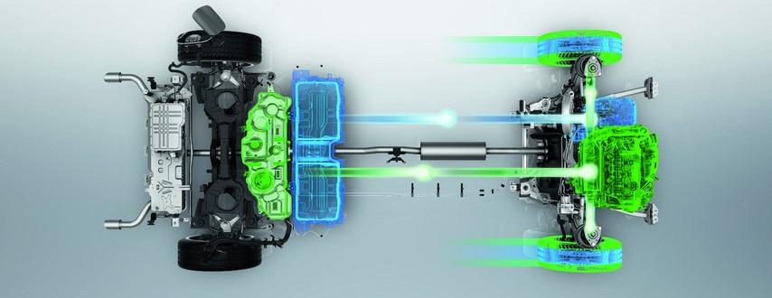Nieuwe Peugeot 508 HYBRID, lithium-ion tractiebatterij