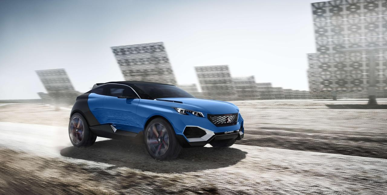 Peugeot Quartz - concept car