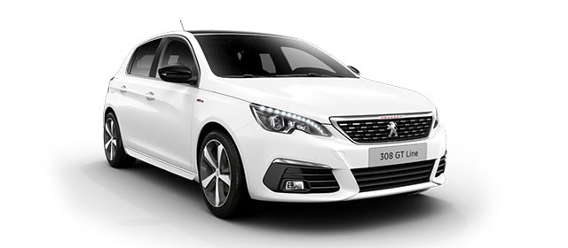 Peugeot 308 Blue Lease Upgrade GT Line