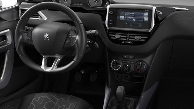 Peugeot 2008 SUV Blue Lion
