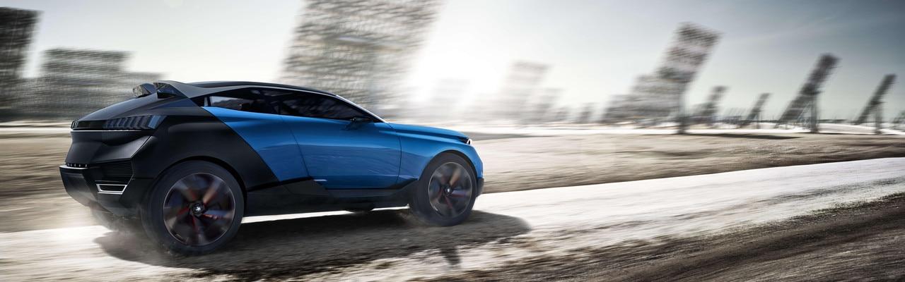 Peugeot Quartz - ultrasportieve crossover