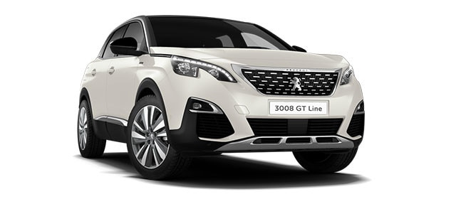 Peugeot 3008 SUV Blue Lease Upgrade GT Line