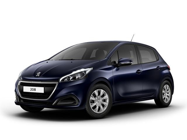 Peugeot 208 Blue Lease Allure