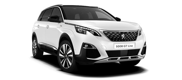 Peugeot 5008 SUV Blue Lease Upgrade GT Line