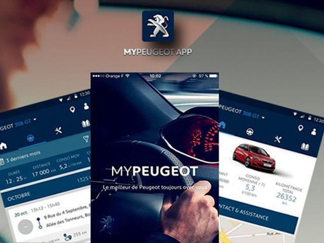 De compacte Peugeot 208 5-deurs - MyPeugeot App