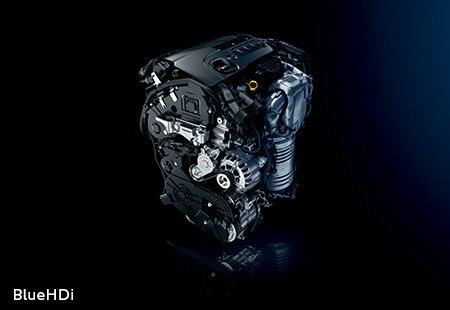 Peugeot 3008 SUV HYBRID4: dieselmotor