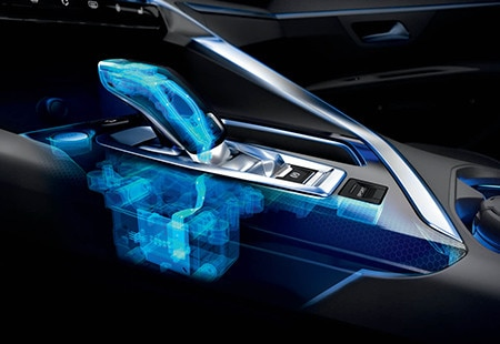 Peugeot 3008 SUV HYBRID4: EAT8-transmissie