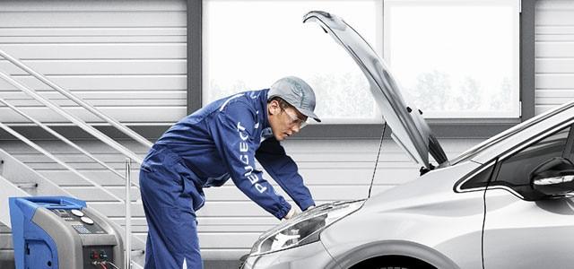 Peugeot Airco Service - airco reiniging