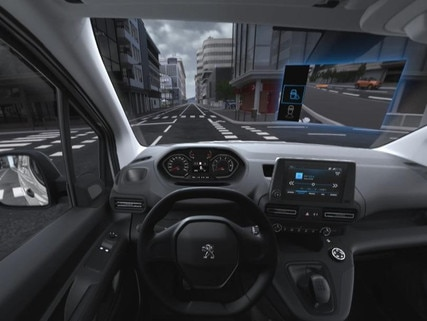 Peugeot  - Virtual Reality - Surround Rear Vision